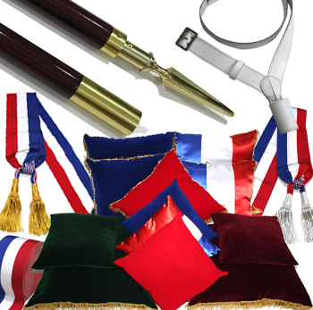 FRENCH MILITARY UNIFORM ACCESSORIES