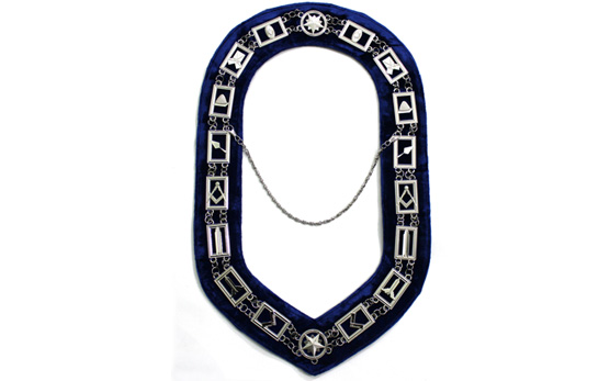 Masonic regalia Blue Lodge Officer Chain Collar