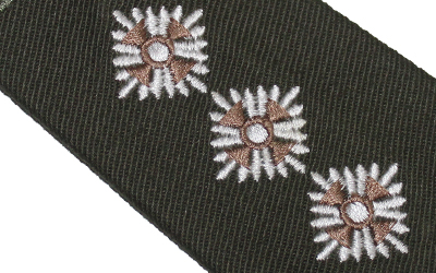 Captain Army Cadet Force Rank Slide Officer