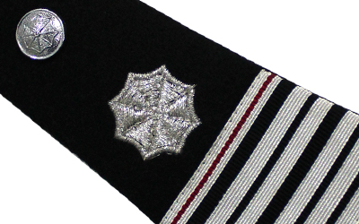 American Military Epaulettes Embroidered