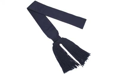 British Army Shoulder Sash Sergeants Navy Blue