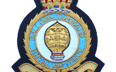 RAF Balloon Command Bullion Wire Badge Supplier