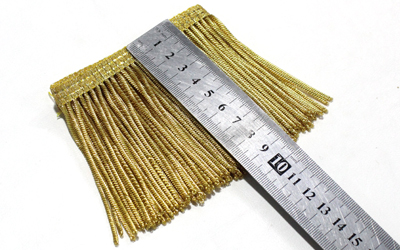 Golden Bullion Wire Fringe Supplier and Manufacturers