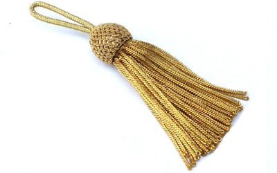 Royal Pillow Bullion Tassel