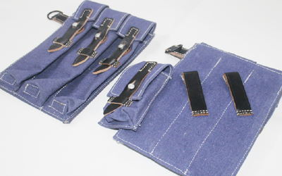 WW1 German MP40 Ammunition Pouches