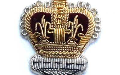 Crown Gold And Silver Bullion Badge