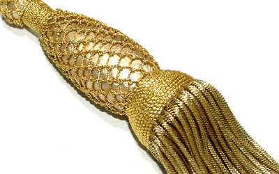Hot Sale Gold Bullion Tassel For Uniform