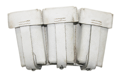 German WW2 K98 Ammo Pouches white