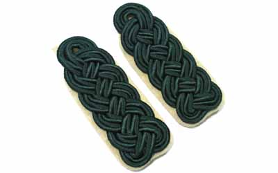 Generals Major Forstmeister Shoulder Boards
