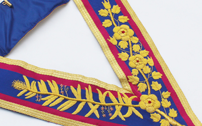 Masonic Regalia Mark Grand Collar