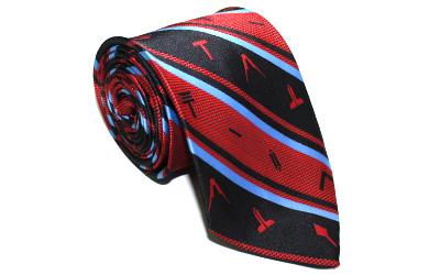Masonic Working Tools Freemason neck tie