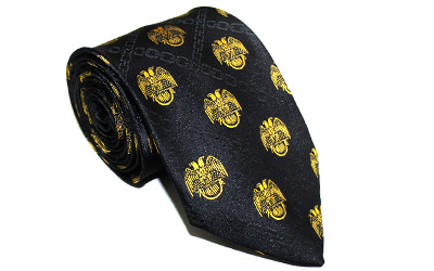 Masonic Scottish Rite 32nd Degree Tie