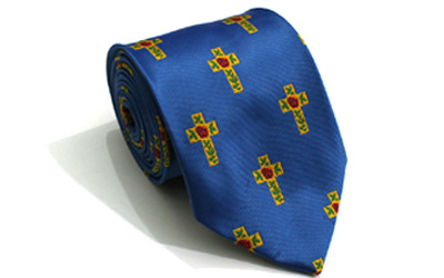 Masonic 100% Silk Rose Croix Tie
