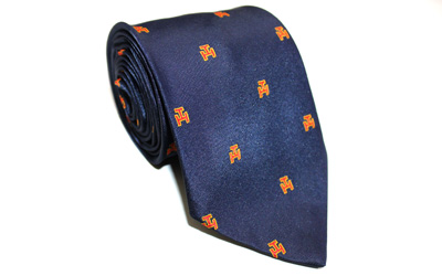 Masonic Royal Arch Regalia Silk Necktie Navy