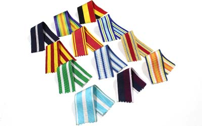 Medal Ribbons Suppliers