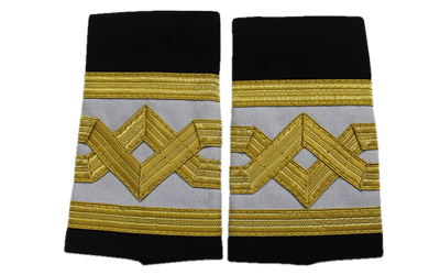 Merchant Navy Chief Engineer slip on epaulette