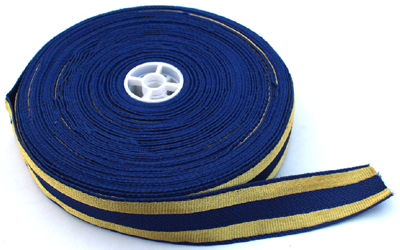 Military Braid Navy Blue Gold Lace Supplier
