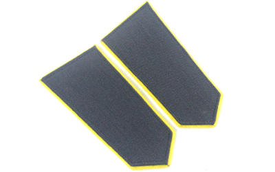 Military Epaulette- Gray and Yellow
