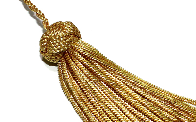 Mini Bullion Tassel For Sale Gold Bullion Metallic Tassels