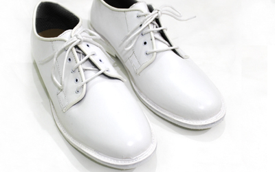Navy White Leather Shoes Supplier