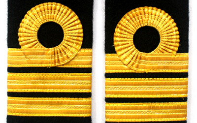 Navy Shoulder boards Epaulettes