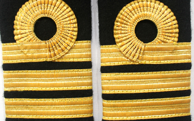 Rear Admiral's shoulder straps, Navy Vice Admiral shoulder straps