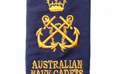 Australian Navy Rank Slide Cadet Petty Officer
