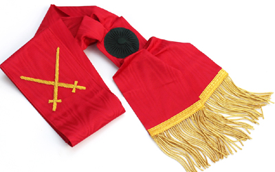 Masonic Regalia Council Degree Sash