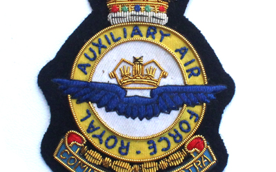 Royal Air Force Auxiliary wire blazer badge