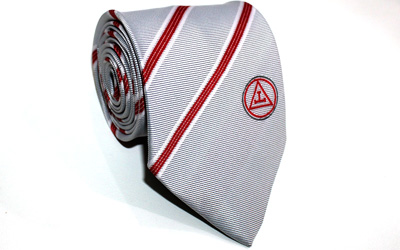 Masonic Royal Arch Triple Taus Necktie