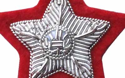 Silver Bullion Rank for General Officers