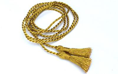 Single Honor Silk Cord Graduation