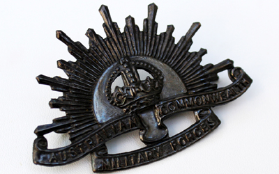 Australian Army Sun Rise Badge