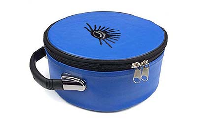 Masonic All Seeing Eyes Cap Case Blue