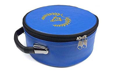 Masonic Regalia Grand Lodge Blue Cap Case