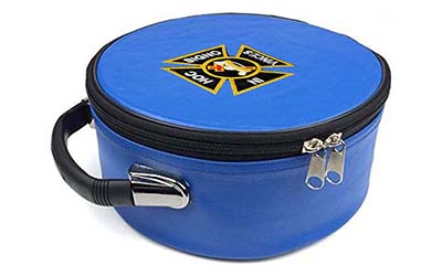 Masonic Regalia Knight Templar Embroidered Blue Cap Case