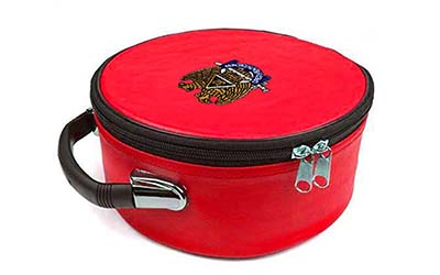 Masonic Regalia Scottish Rite Embroidered Red Cap Case