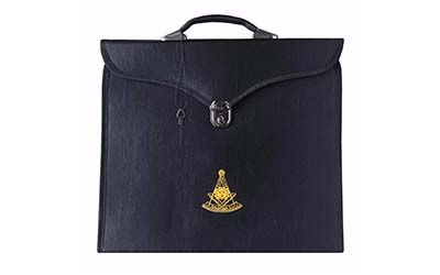 Masonic MM/WM and Provincial Full Dress Past Master Cases II-MM/WM Case