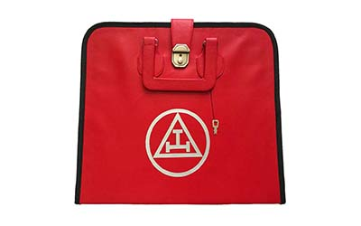 Masonic Royal Arch MM/WM and Provincial Full Dress Apron Cases