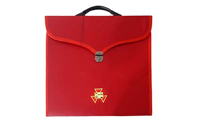 Masonic Past High Priest PHP MM/WM and Provincial Full Dress Cases with Hard Handle