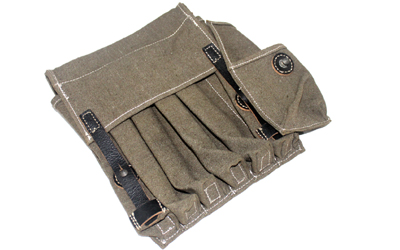 WW1 German Texled 6 cell MP40 Pouch