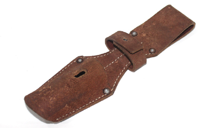 WW1 WW2 Brown Leather Bayonet Frog