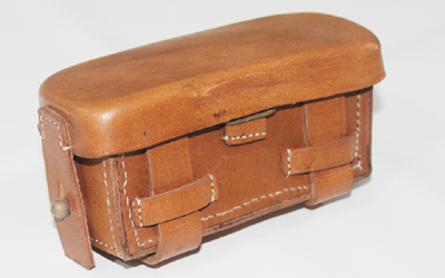 WW2 Medical Pouch Brown Leather