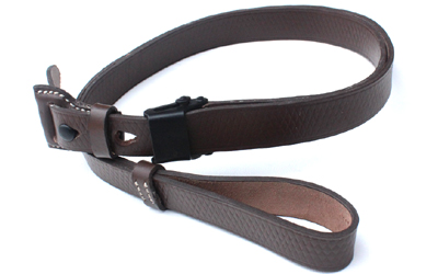 German WWII Mauser 98K Rifle Leather Sling