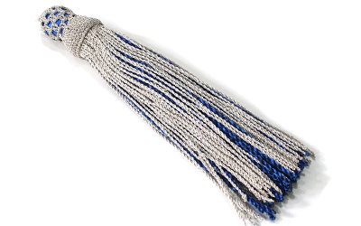 Military Waist Sash metallic Tassel